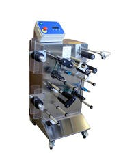 FX-20 Labeler Bottle labeler sold by The Compleat Winemaker