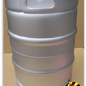"NEW! 1/2 Barrel Commercial Keg with Sankey ""D"" Spear. - Keg sold by All Safe Global, Inc."
