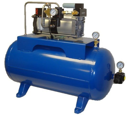 GPLV2-30GH Air Pressure Amplifier System Air compressor sold by High Pressure Technologies