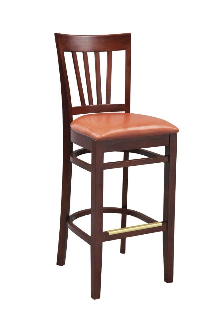 G & A Seating 9112 - Demi Bar Stool (12 per Case) Barstool sold by Elite Restaurant Equipment