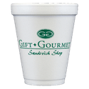 10 oz. Custom Disposable Foam Cups - Disposable cup sold by Cup of Arms