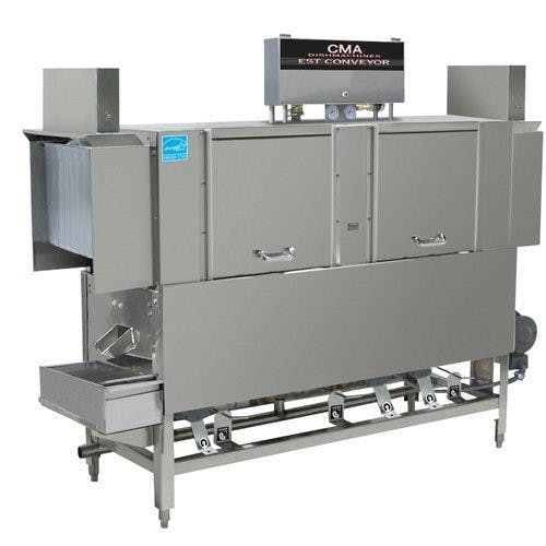 CMA Dishmachines EST-66 66-Inch Conveyor Dishwasher - High or Low Temp Commercial dishwasher sold by Mission Restaurant Supply