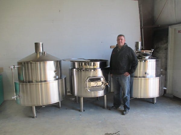 5 Barrel Domes Brewing System Brewhouse sold by BC Packaging Service Brew-Stuff