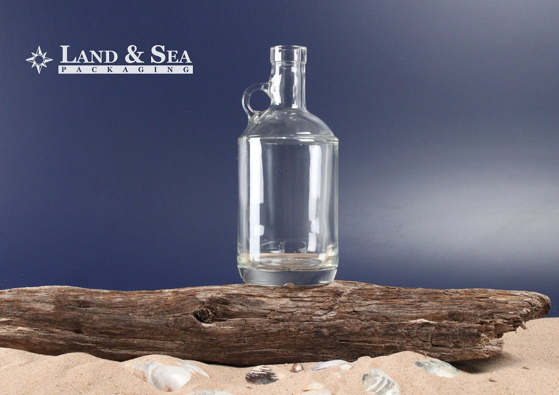 Moonshine Spirit Bottle Liquor bottle sold by Land & Sea Packaging