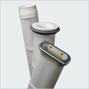 Pleated bag filters Cartridge filter sold by EAS Corp