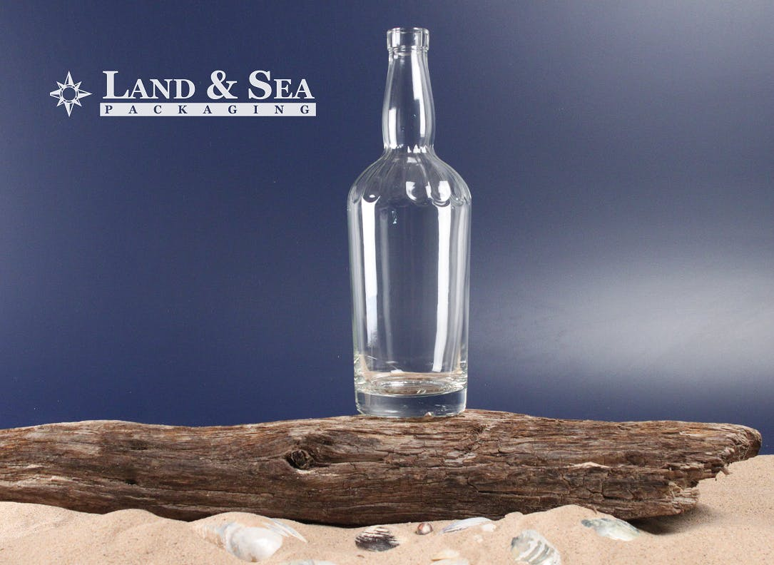 Jimmy Lee Spirit Bottle Liquor bottle sold by Land & Sea Packaging