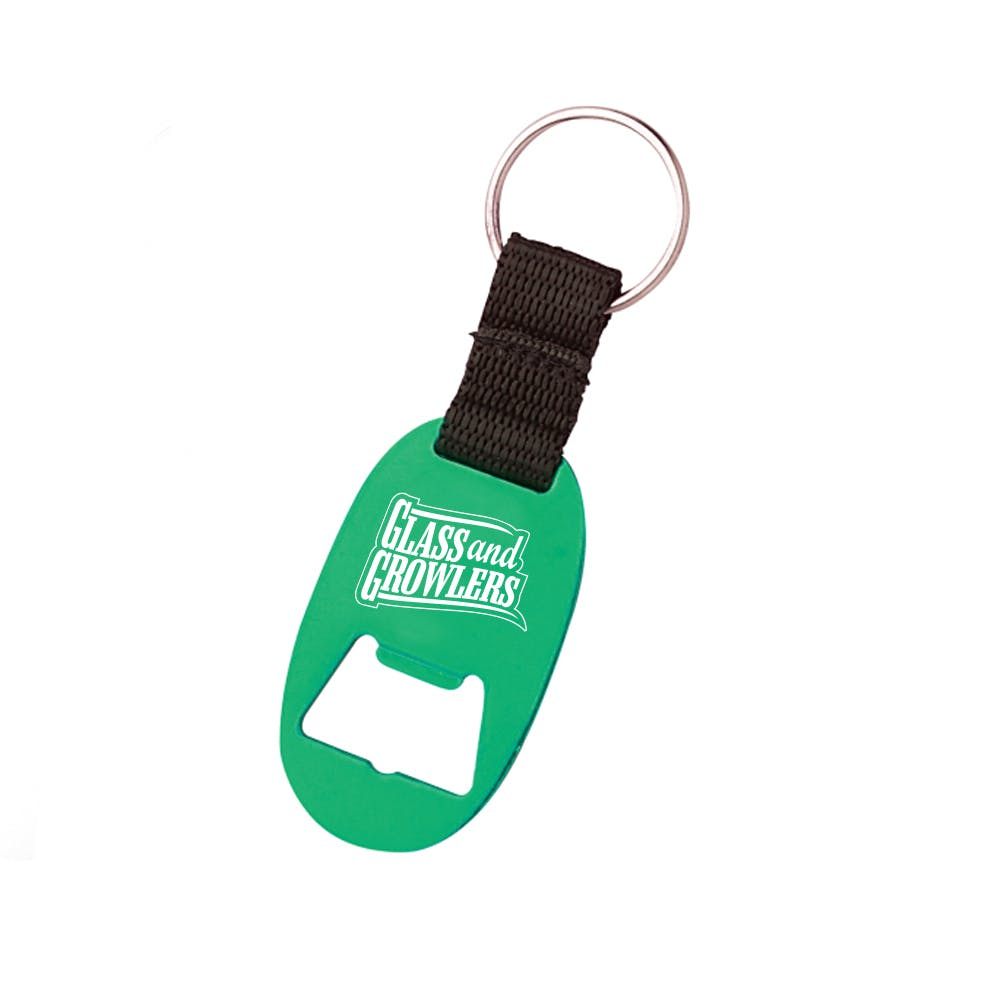 Paddle Key Chain Opener Bottle opener sold by Glass and Growlers