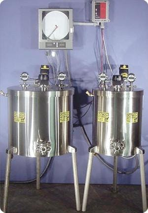 60 gallon Vat Pasteurizer Pasteurizer sold by Bob-White Systems