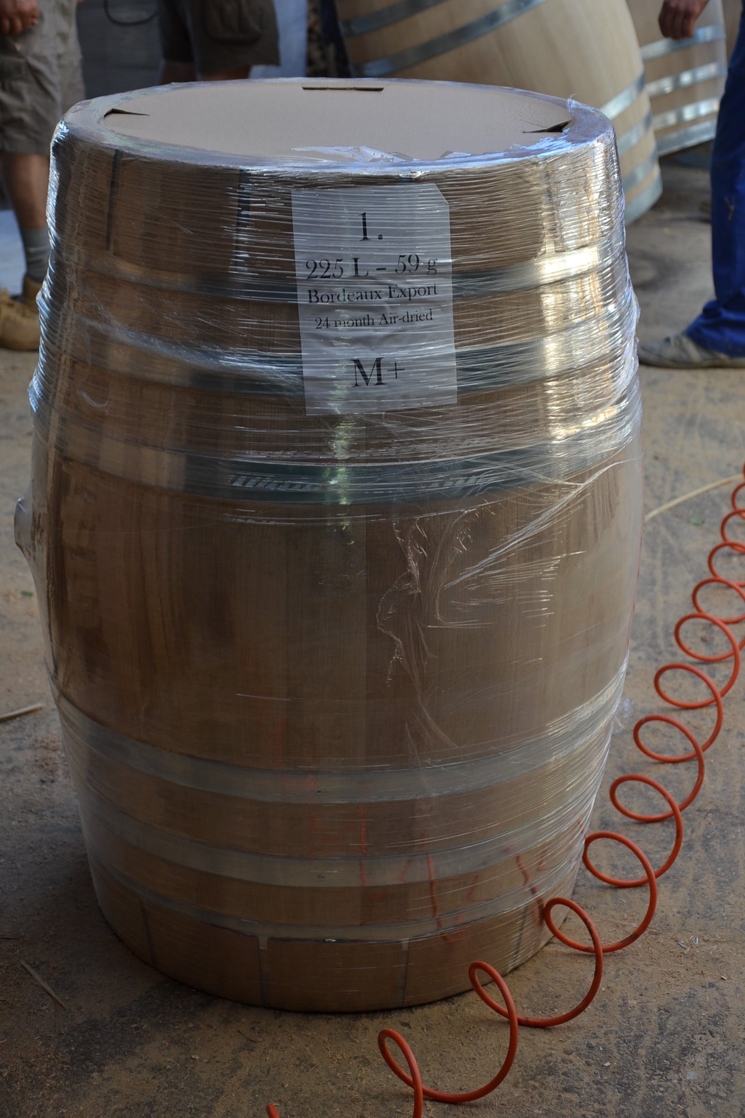 Oak barrel 114 liters Wine barrel sold by Mueller Pot Stills Inc