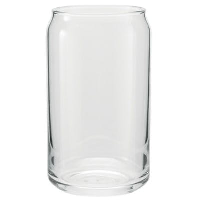 16oz can glass Beer glass sold by Zenan USA