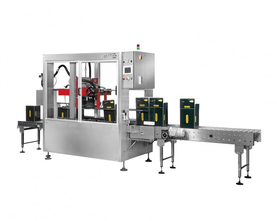 Ape Impianti CH 2010 HM US Case packers Case packer sold by Prospero Equipment Corp.