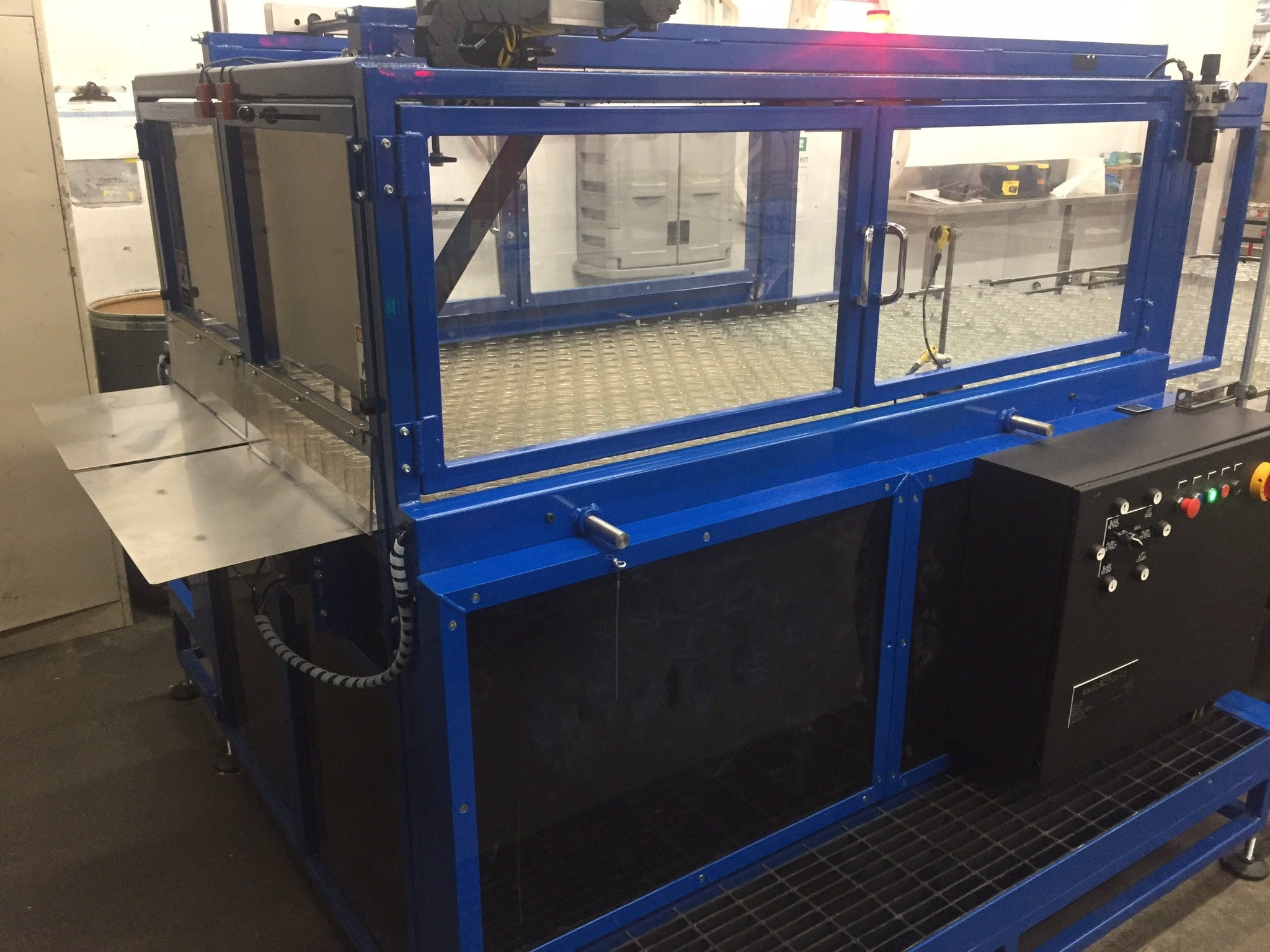 Automatic Depalletizer (half-height pallets) - Automatic Depalletizer (half-height pallets) - sold by GR-X Manufacturing