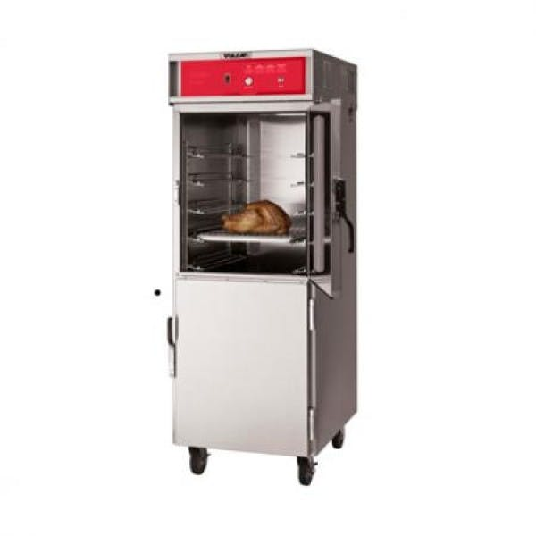 16 Pan Stainless Mobile Cook & Hold Cabinet