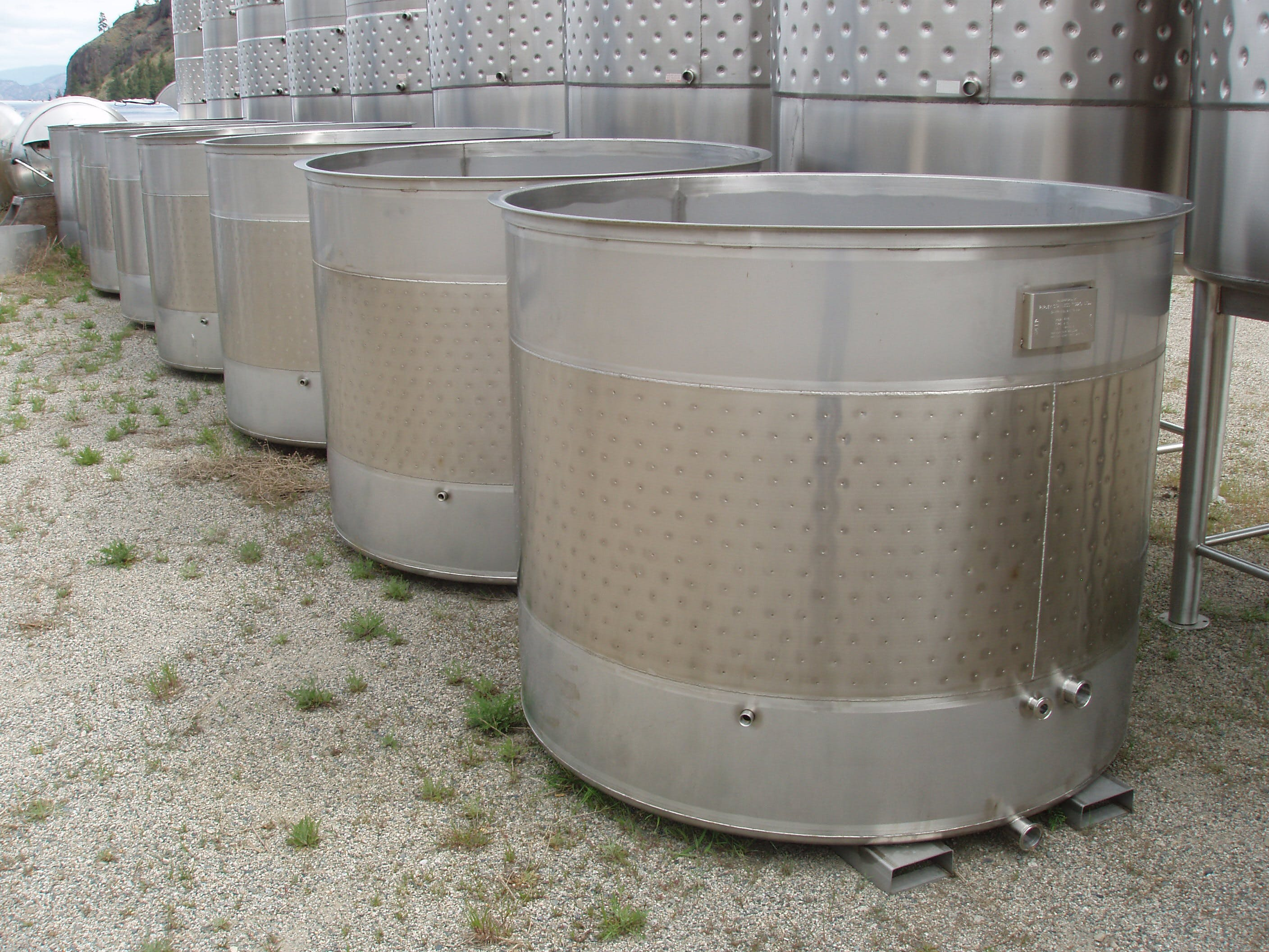 Two Ton Fermenter Wine tank sold by Ripley Stainless Ltd