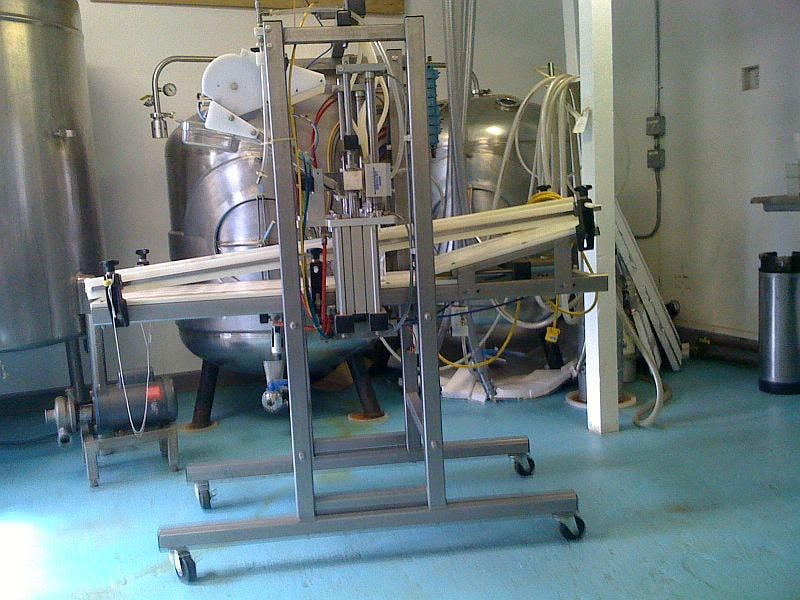 Meheen 4 head filler - sold by Ager Tank & Equipment Co.