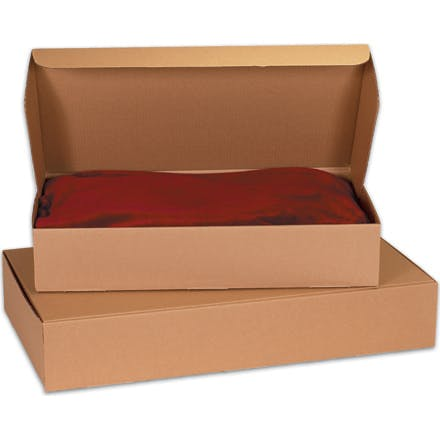Kraft Garment Mailers Kraft packaging sold by Ameripak, Inc.