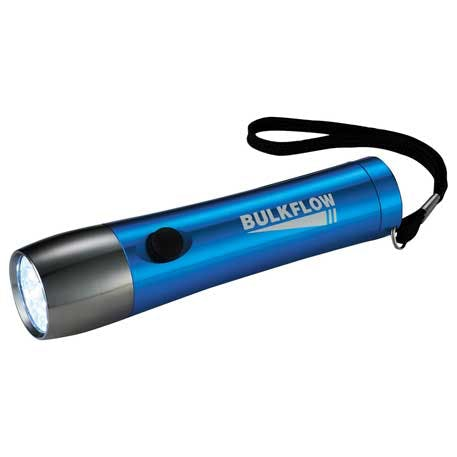 WorkMate Color 14 LED Flashlight - 1226-07 - Leeds Promotional flashlight sold by Distrimatics, USA