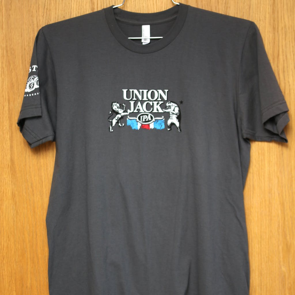 Ringspun cotton tee - Firestone Walker - Union Jack IPA Promotional shirt sold by Brewery Outfitters