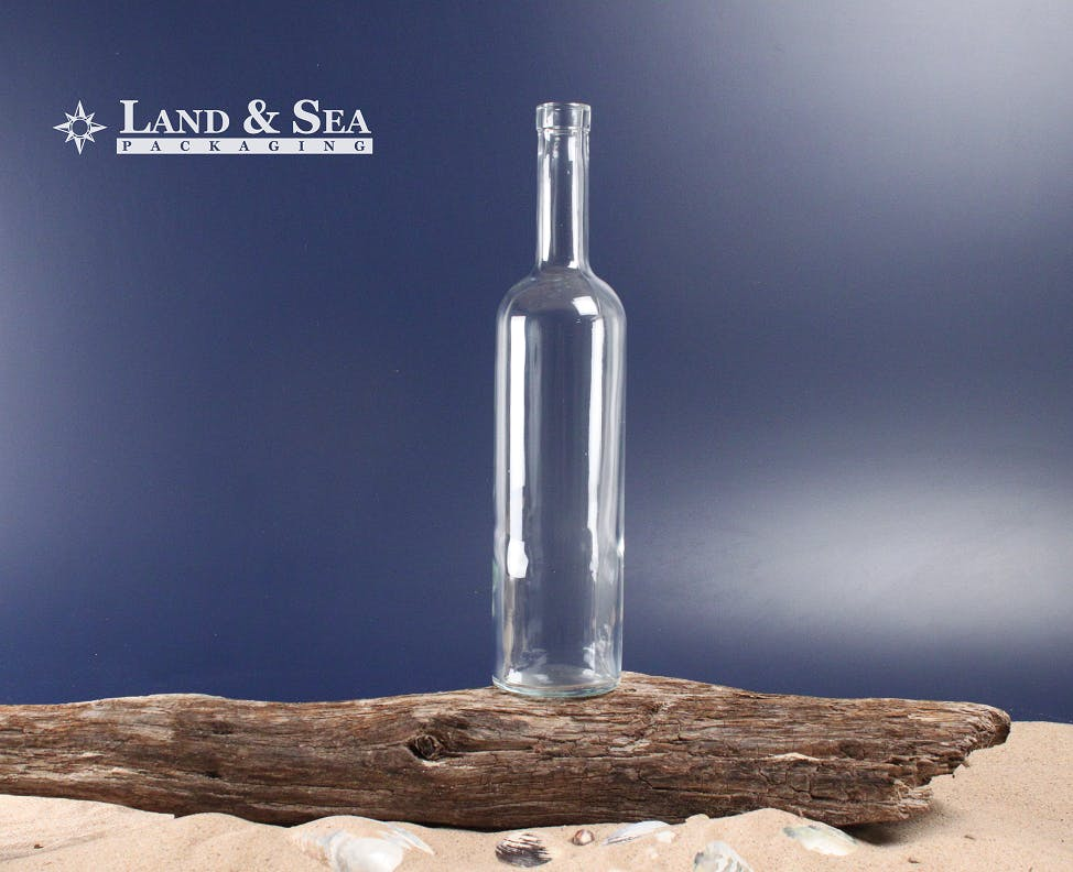 California Spirit Bottle Liquor bottle sold by Land & Sea Packaging