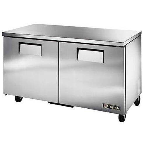 "True ( TUC-60F-LP ) - 61"" Low Profile Undercounter Freezer Commercial freezer sold by Food Service Warehouse"