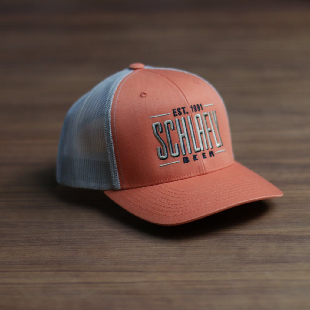 Twill front trucker (contrast) - sold by Brewery Outfitters