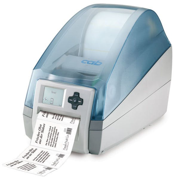 Label printer MACH4 Labeling machine sold by MSM Packaging Solutions