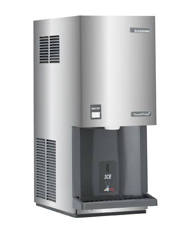 Scotsman Touchfree Ice Maker & Dispenser - Flake-Style, 392lb./24hrs Ice machine sold by TheRDStore.com