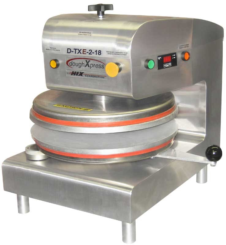 DoughXpress D-TXE-2-18 Tortilla / Pizza Dough Press - sold by pizzaovens.com
