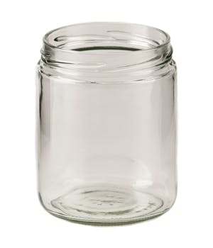 16 oz Straight-Sided Jars 82 Lug Glass Jar sold by Fillmore Container Inc