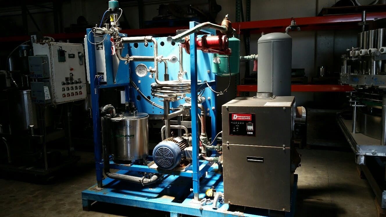 Goodnature Plate Pasteurizer, Model PNP-144 HF, Pasteurizer sold by Smith Food Machinery Inc.