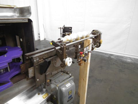 Used Pneumatic Scale Bottle Rinser Air Inverter Cleaner - sold by Sigma Packaging