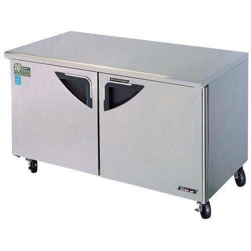 "Turbo Air ( TUF-60SD ) - 60"" Undercounter Freezer - Super Deluxe Series Commercial freezer sold by Food Service Warehouse"