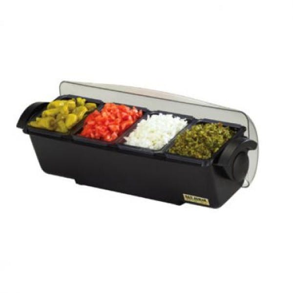 The Dome® 4-Section 1-1/2 pt. Condiment Station