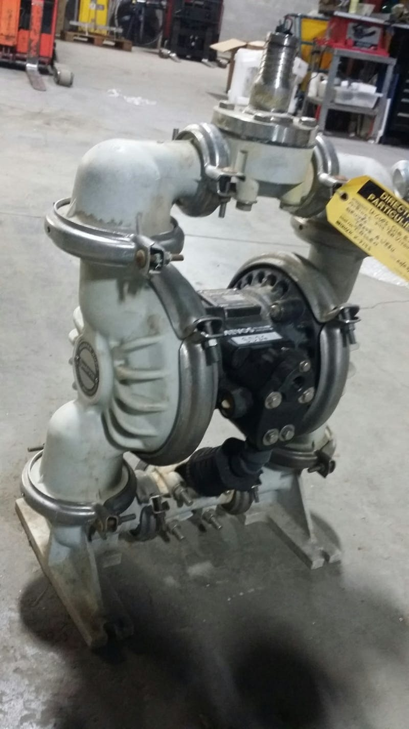 SANDPIPER PB1 1/2-A(TV-3-PP) Polypropylene Diaphragm Pump (Used) - sold by Aevos Equipment