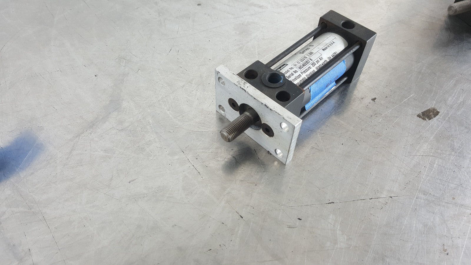 Parker Series S 01.12 USU16 2.000 200 Psi Air Pneumatic Cylinder New - sold by Jak's Restaurant Supply