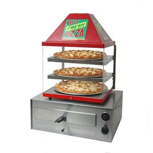 Wisco Pizza Oven & Warmer Combo Pizza warmer sold by pizzaovens.com