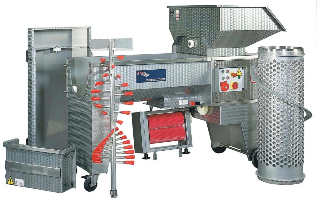 C.M.A. LUGANA 3R-TL Grape crusher/destemmers Grape crusher/destemmer sold by Prospero Equipment Corp.