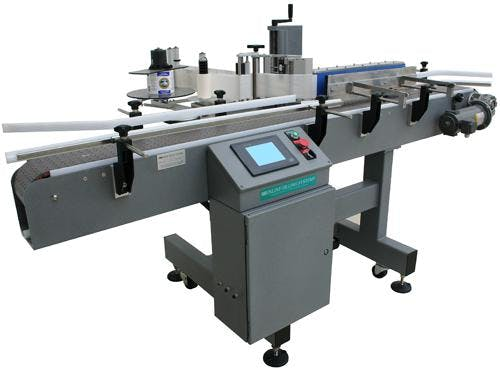 Automatic Labeling Machines Bottle labeler sold by Inline Filling Systems