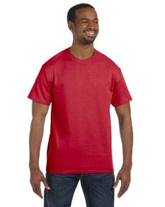 29M Jerzees 5.6 oz., 50/50 Heavyweight Blend™ T-Shirt Promotional shirt sold by Lee Marketing Group