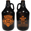 64oz Amber Growler - Growler sold by Cascade Graphics