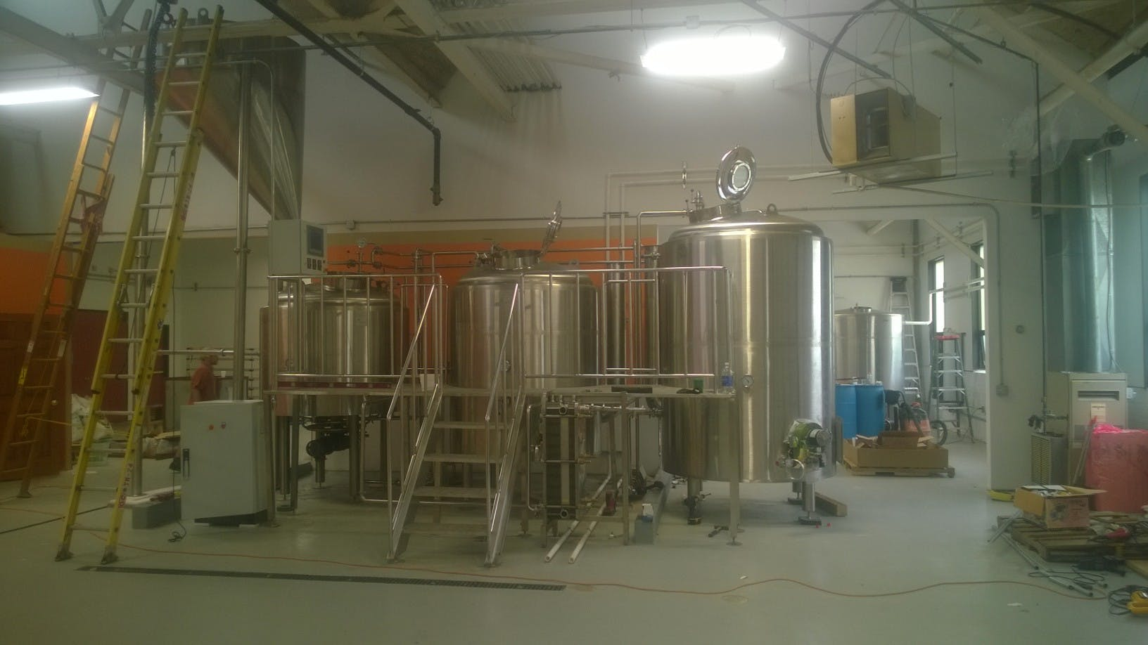 15 Barrel Brewing Systems Brewhouse sold by O'Neill's Brewing Systems LLC