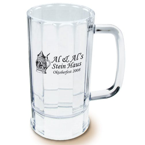 14oz Styrene Beer Mug Plastic cup sold by MicrobrewMarketing.com