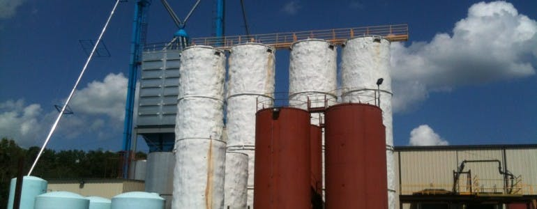 Storage Silos Grain silo sold by Southern Metal Fabricators, Inc.