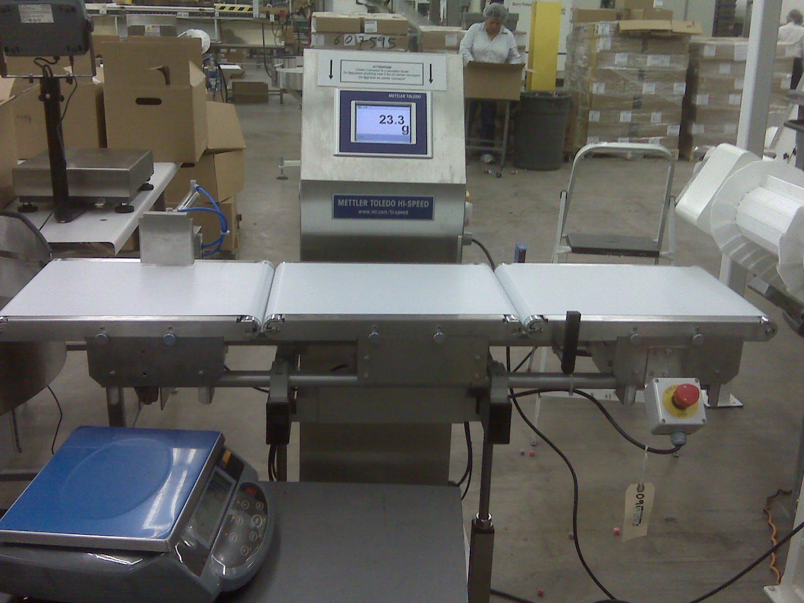 HI Speed Checkweigher - Checkweigher Sold By Southwest Packaging ...