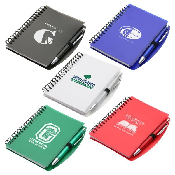 Hardcover Notebook & Pen Set (Item # IAKJN-IBJHW) Promotional product sold by InkEasy