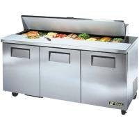 "True TSSU-72-18 - 72"" 18 Bin Sandwich/Salad Prep Table Food prep table sold by Prima Supply"