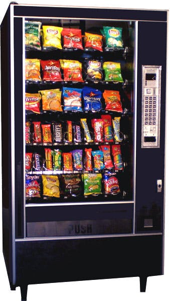 Automatic Products 7600 snack machine Vending machine sold by Vending World