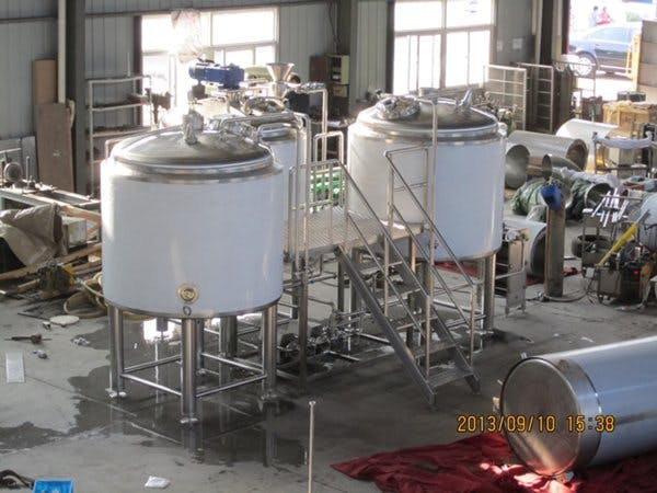 20 Barrel Brewing System – Steam Heated 3 vessel combo - sold by BC Packaging Service Brew-Stuff
