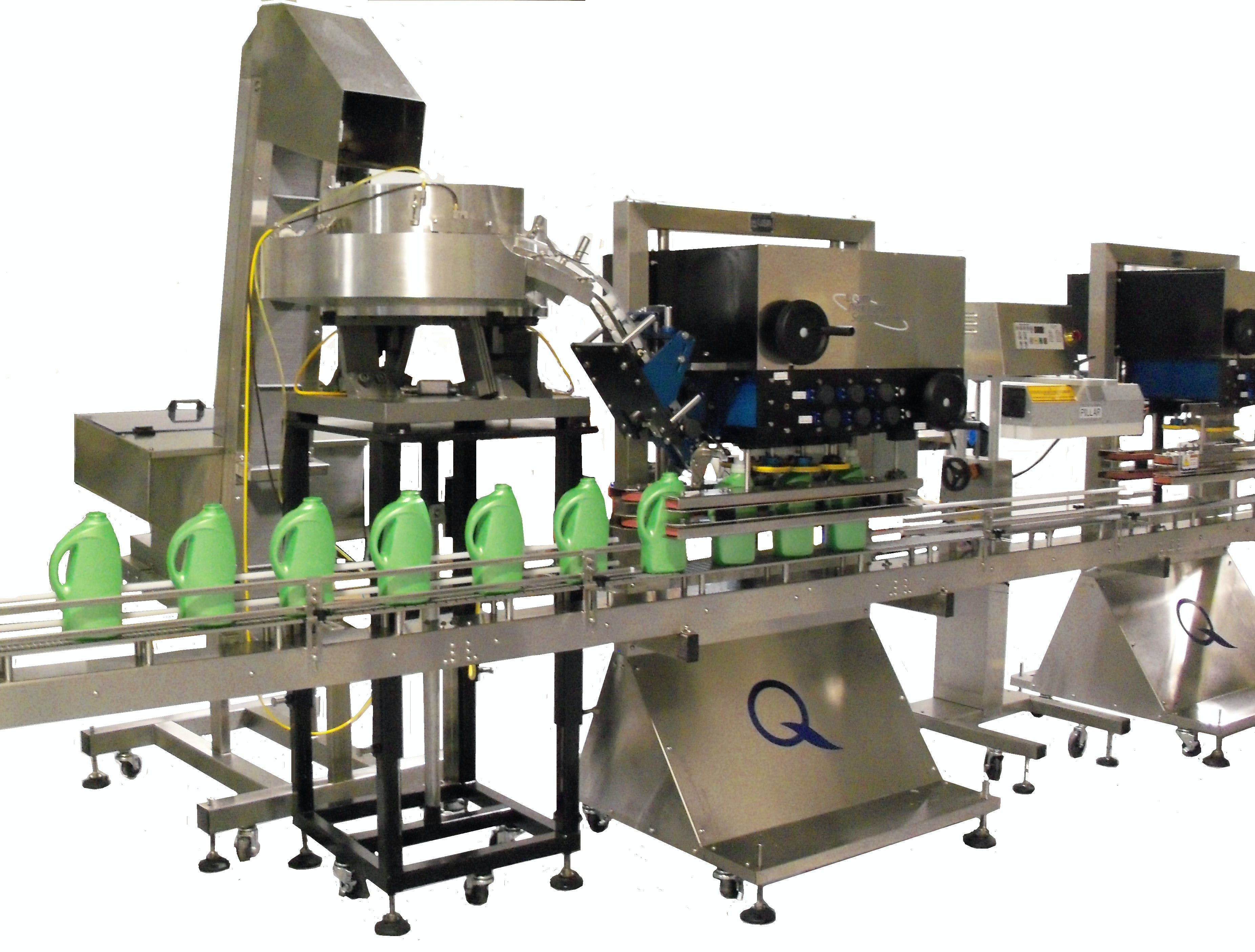 Spindle Capper with elevator and sorting bowl - Capping Machines - sold by Liquid Packaging Solutions