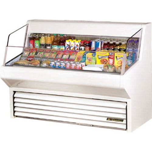 "True (THAC-60) - 60"" Horizontal Air Curtain Merchandiser Merchandiser sold by Food Service Warehouse"